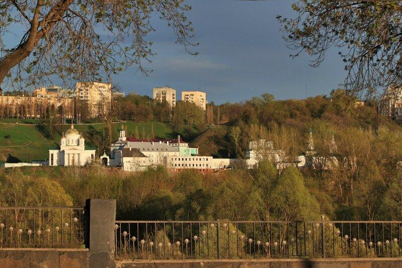 Панорама Благовещенского монастыря в Нижнем Новгороде