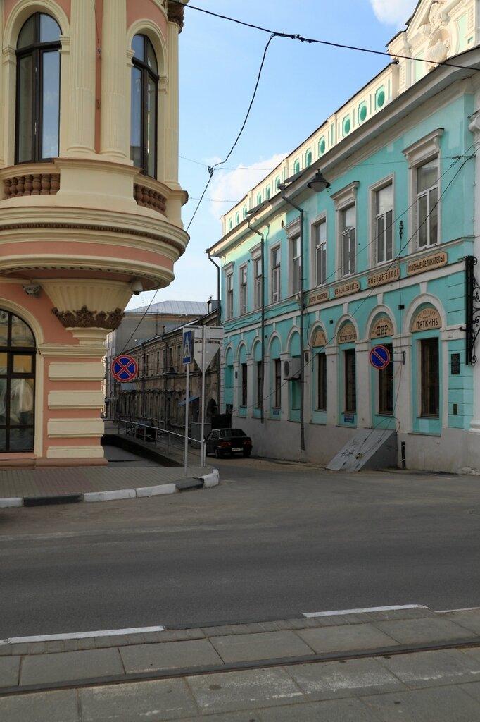 Переулок на Рождественской улице, Нижний Новгород