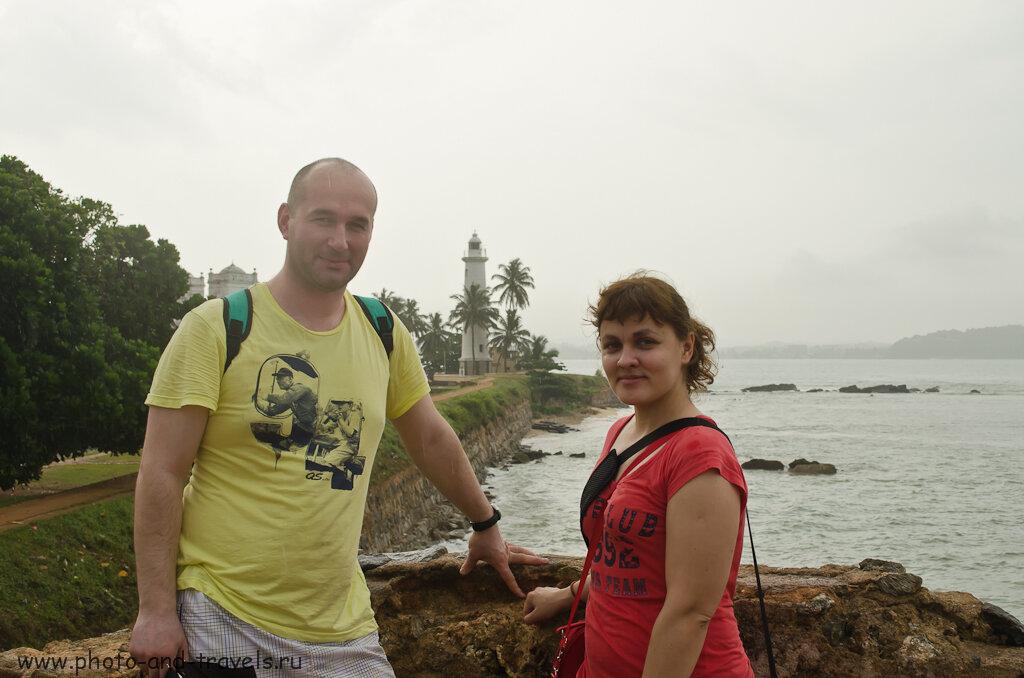 Маяк в форте Галле на Шри-Ланке. Рассчитываем затраты на самостоятельное путешествие по острову.