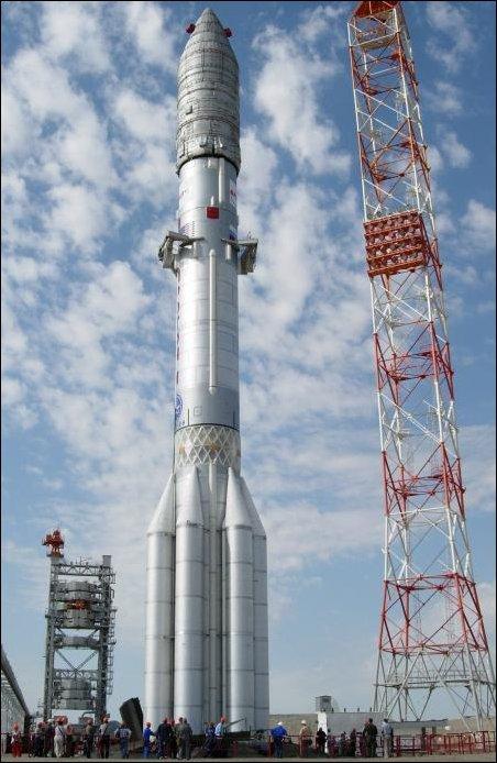 Запуск ракеты Протон-М. Не надо так...