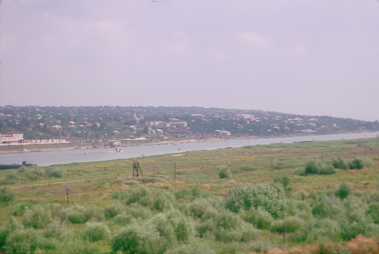 Вверх по течению от Ростова