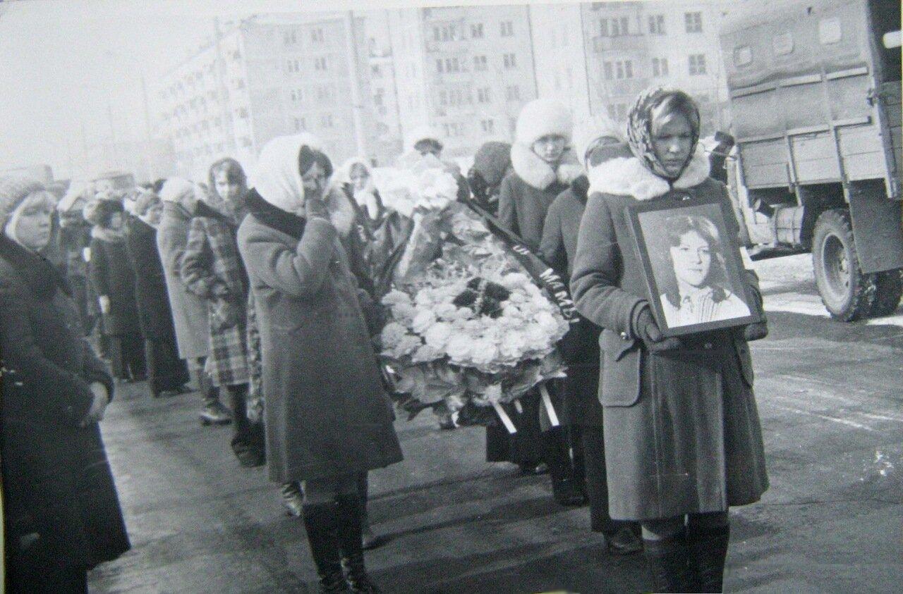 Похороны Нины.