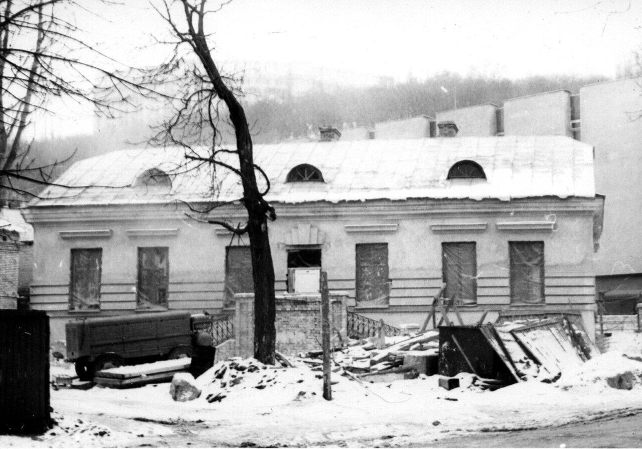 Зима на ул. Сагайдачного в 1980.