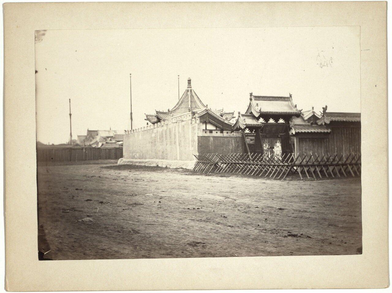 Маймачен. Китайский храм