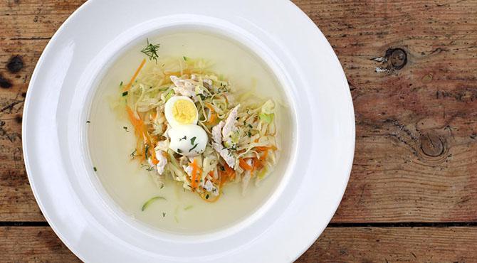 суп лапша яйцом рецепт фото