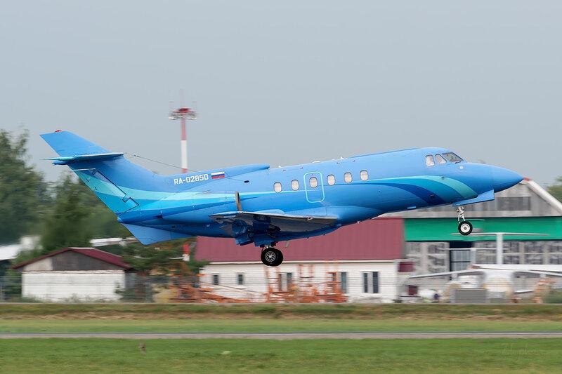 British Aerospace BAe 125-700B (RA-02850) S-Air D801370