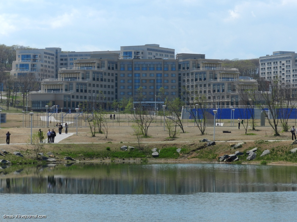 Кампус ДВФУ. Праймериз. 22-мая-2013г