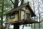 Домик на дереве.