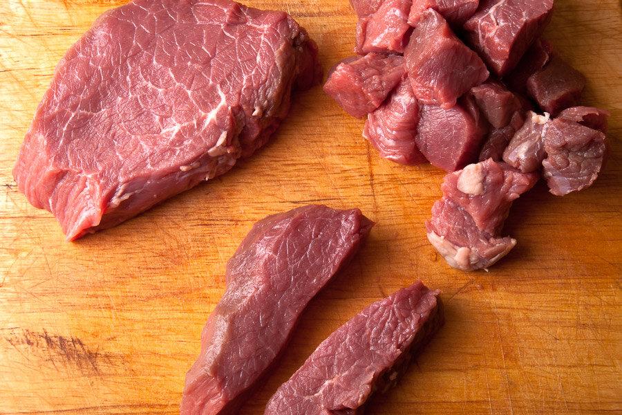 Мясо с ткемали