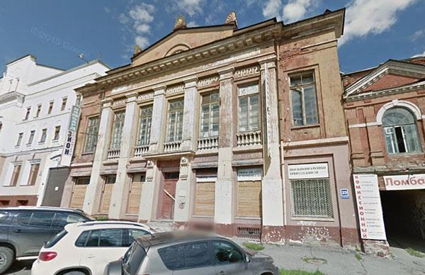 Дом офицеров на Спасской