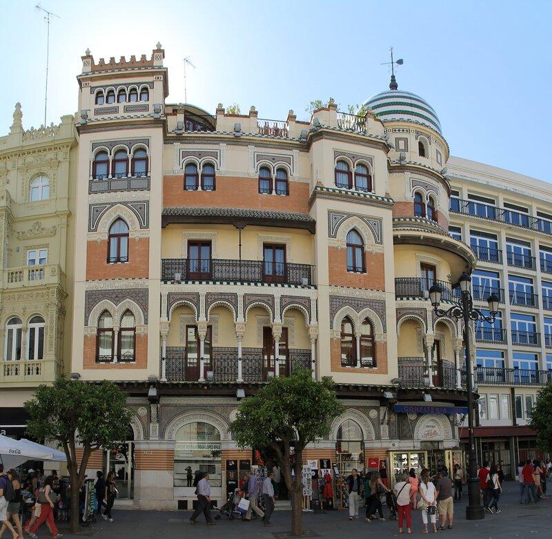 Adriatic building (Edifico de La Adriática), Seville