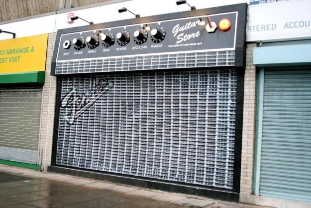 Магазин гитар.