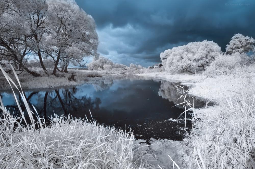 ©Alexandr KukrinovРека Ир, Кировская область. Зимой, кудабы нипривела тебя дорога…