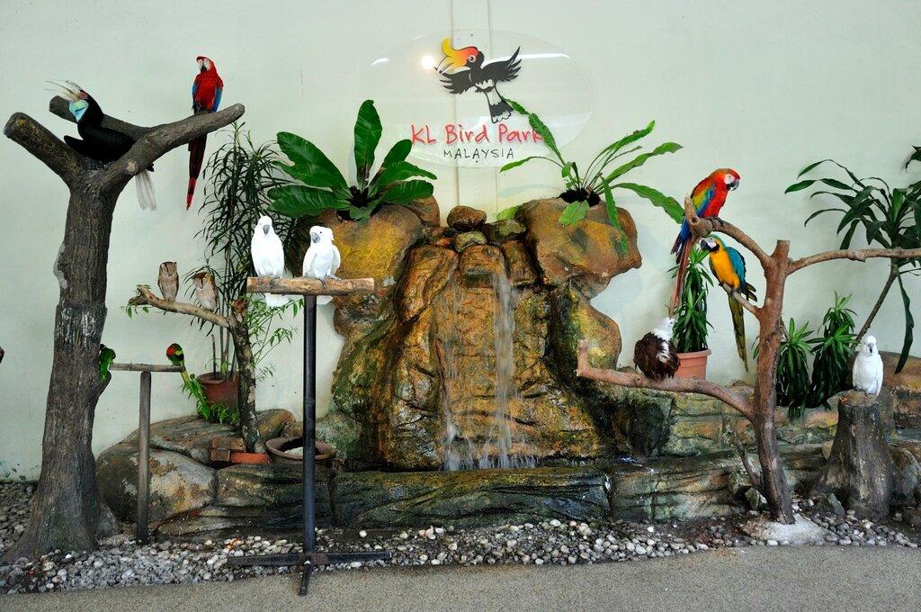 Парк птиц в Куала-Лумпуре