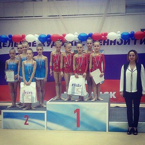 гимнастки из Куйбышева в Бердске