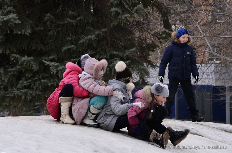 Дети, Саратов, 12 февраля 2016 года