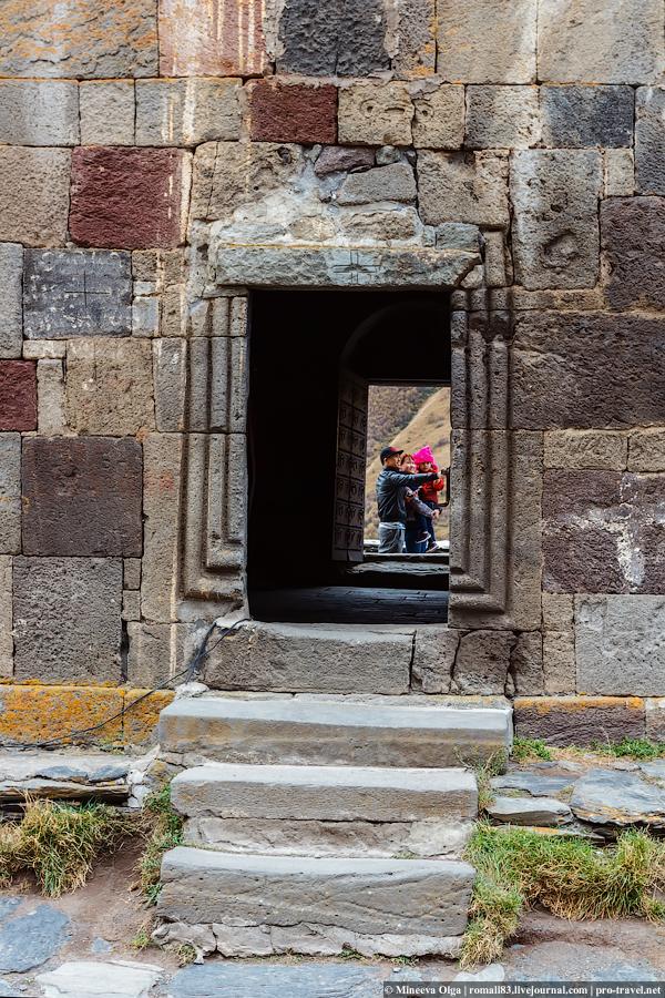 Гергетский монастырь в Казбеги