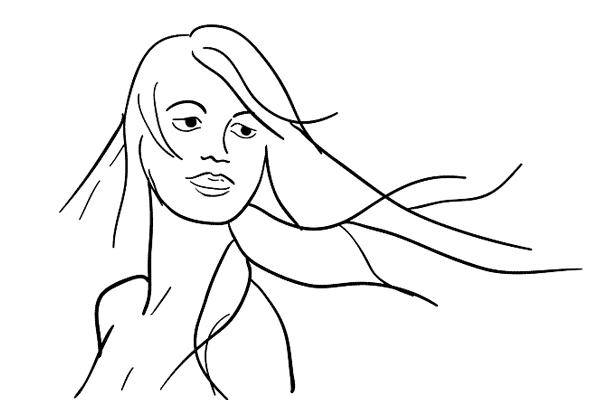 Позирование: позы для женского портрета 2-4