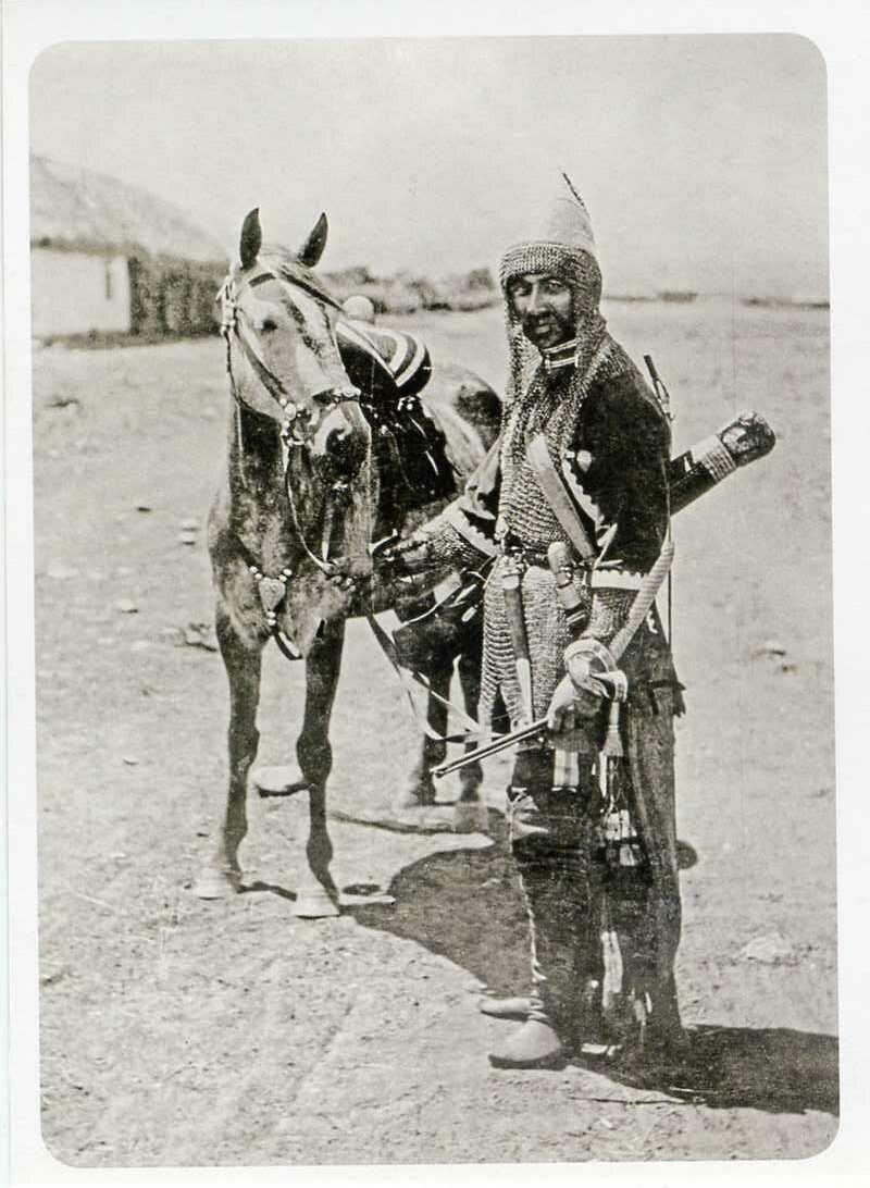 Кабардинец в воинском снаряжении. ХIХ век.