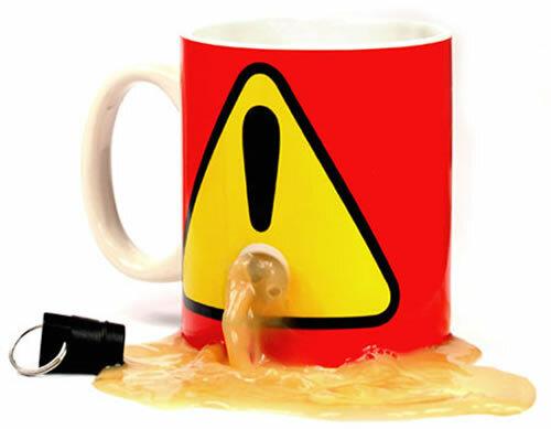 Plug Mug- система против воров. Для тех, кто не любит когда чужие люди пьют из Вашей кружки