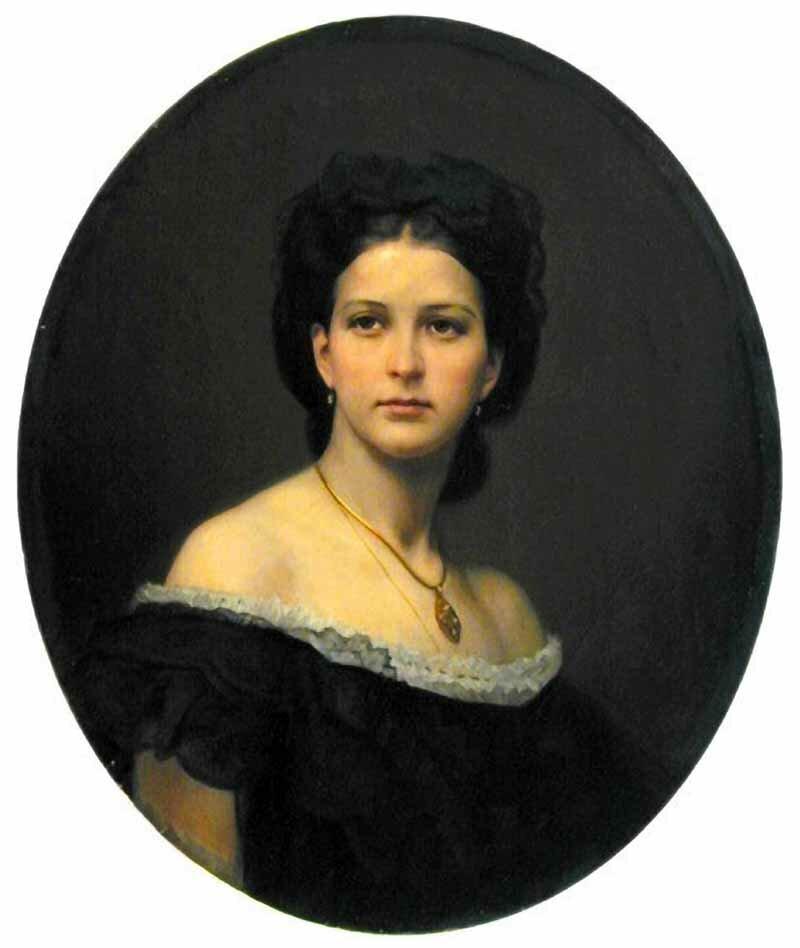 Портрет графини С.А. Бобринской, 1878, Манизер Генрих Матвеевич (1847-1925)j