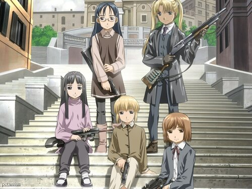 """Gunslinger girl"" wallpaper"