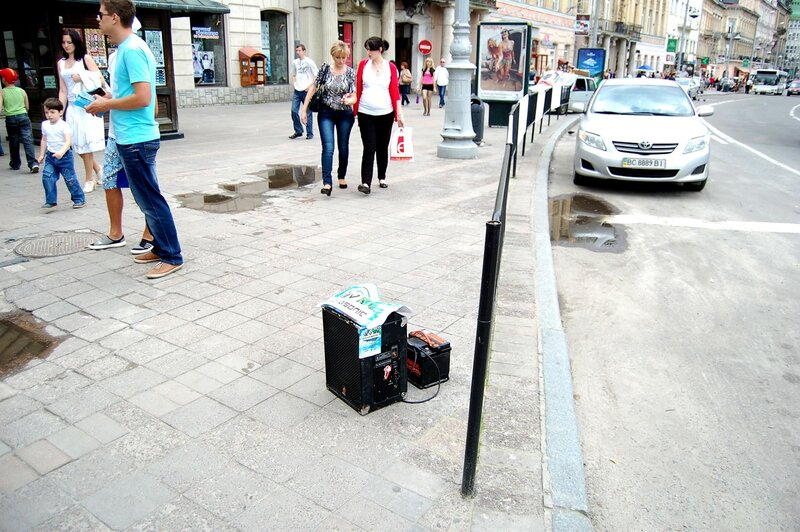 уличная музыка