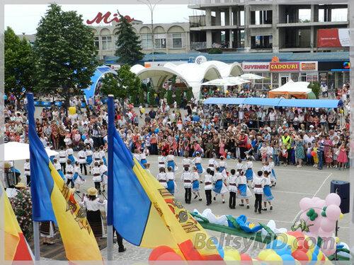Северная столица Молдовы отмечает своё 595-летие