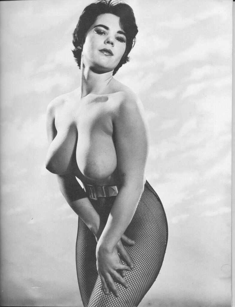 Подборка эротики из ретро фото. . Были отобраны только девушки с большой г