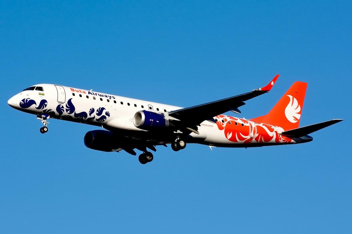 Embraer 190-100LR. Buta Airways. VP-BRV.