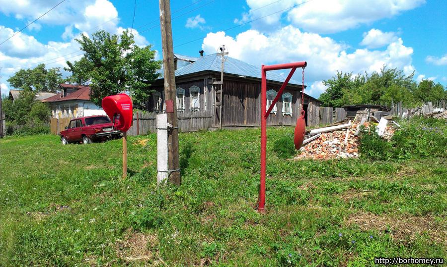 пожарная сигнализация в деревне