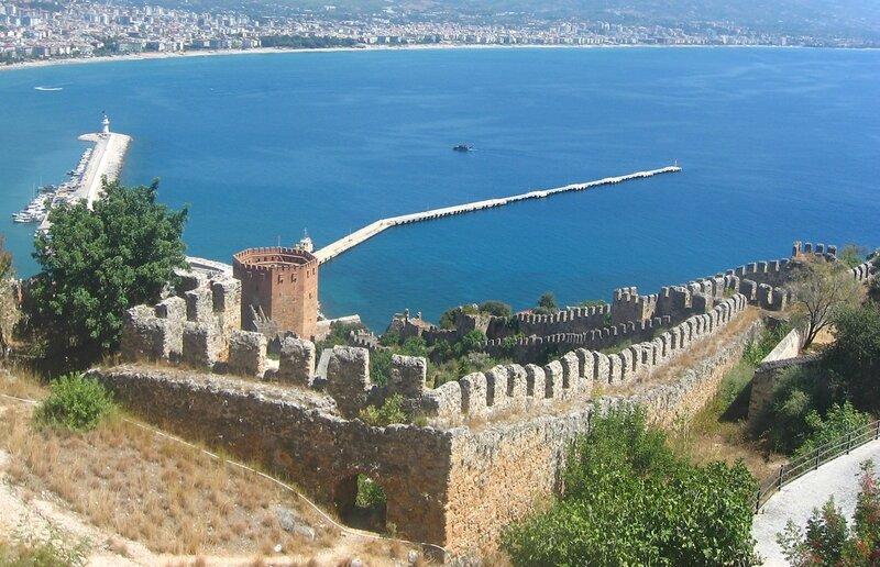 Дышкале, крепость Аланьи,