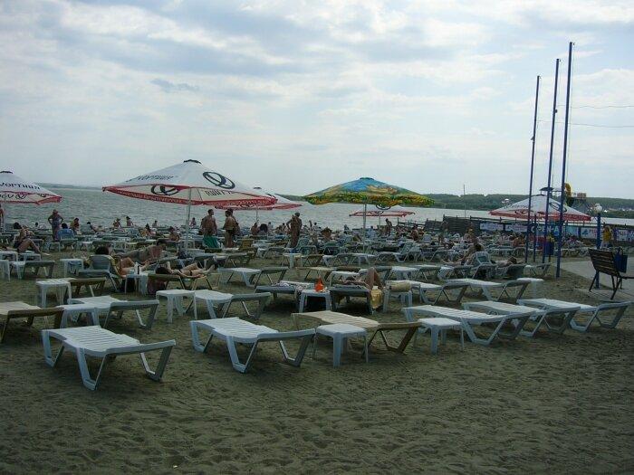 Пляж Западный берег