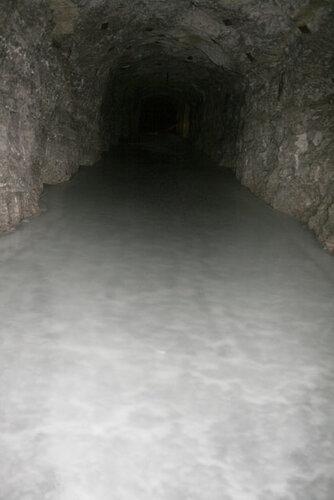 Внутри шахты