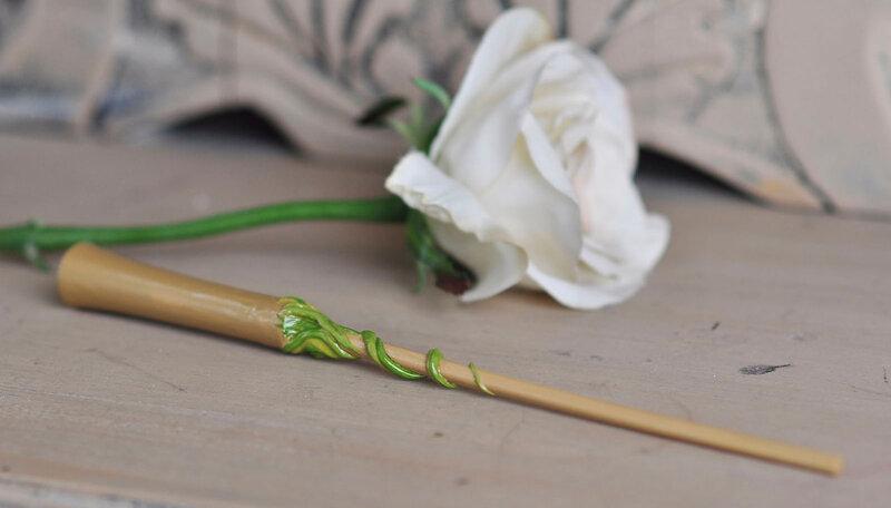 Как сделать сердцевину для волшебной палочки