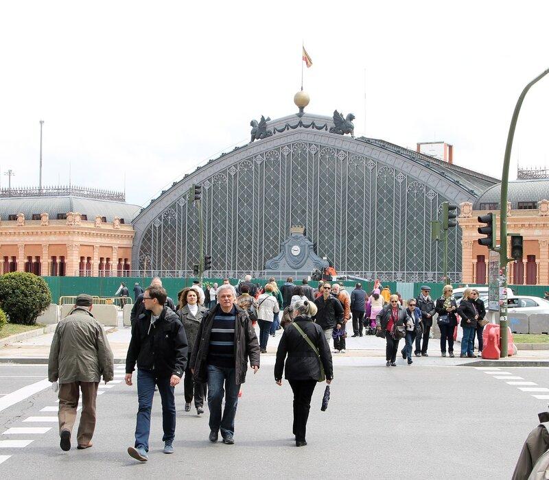 Мадрид. Вокзал Аточа
