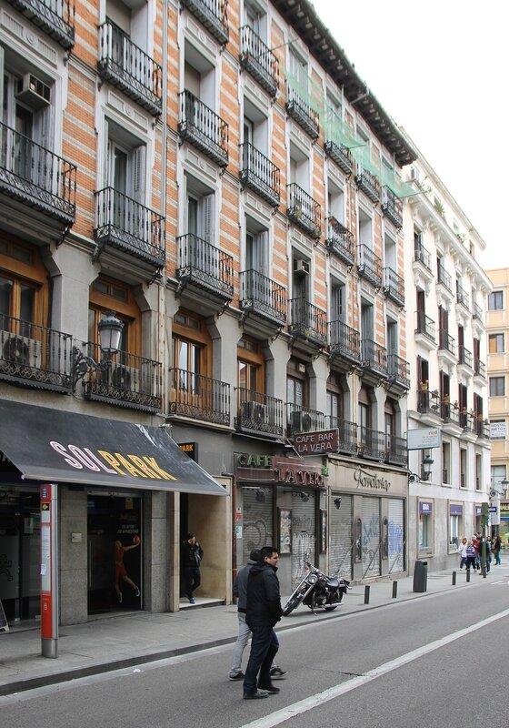Мадрид. Площадь Антон Мартин (Plaza Anton Martin)
