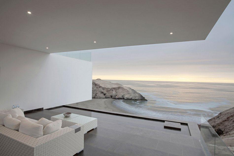 Дом для настоящего романтика на берегу Тихого океана