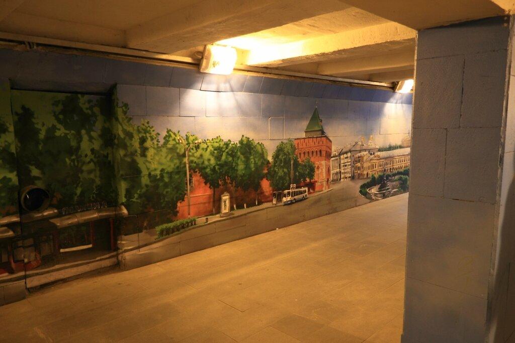 В подземном переходе, Нижний Новгород
