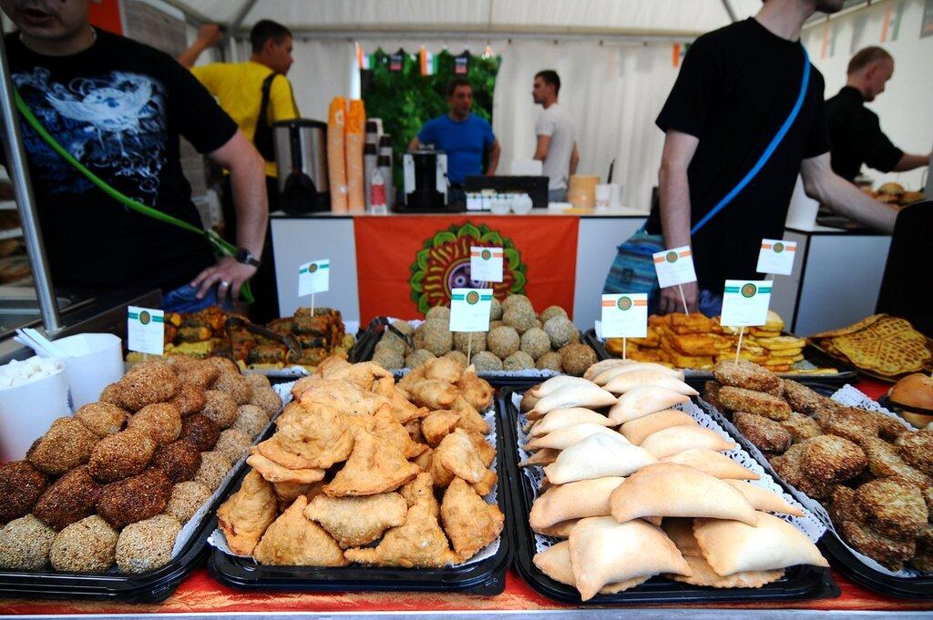 Фестиваль мировой еды и путешествий