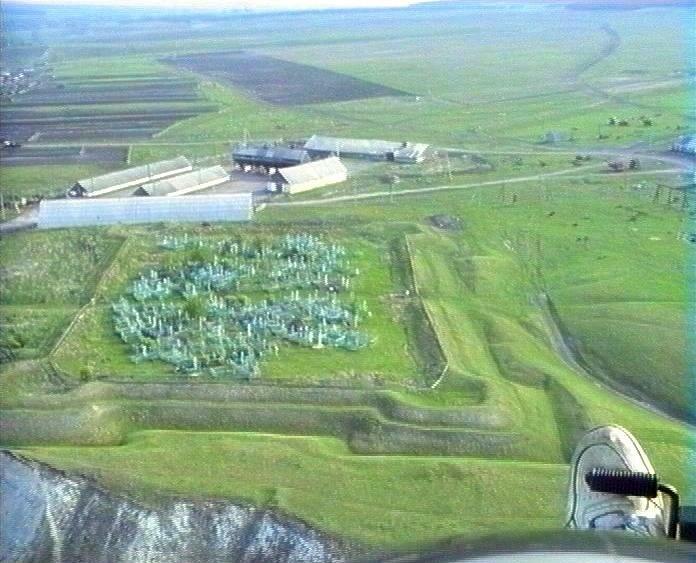 Аэрофотосъёмка крепости