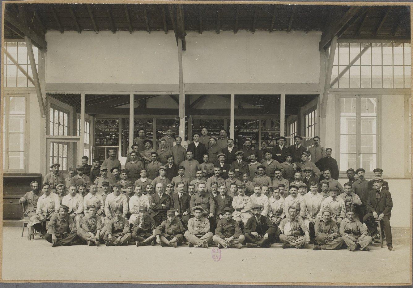 Обитатели и персонал заведения. 1 окт 1917