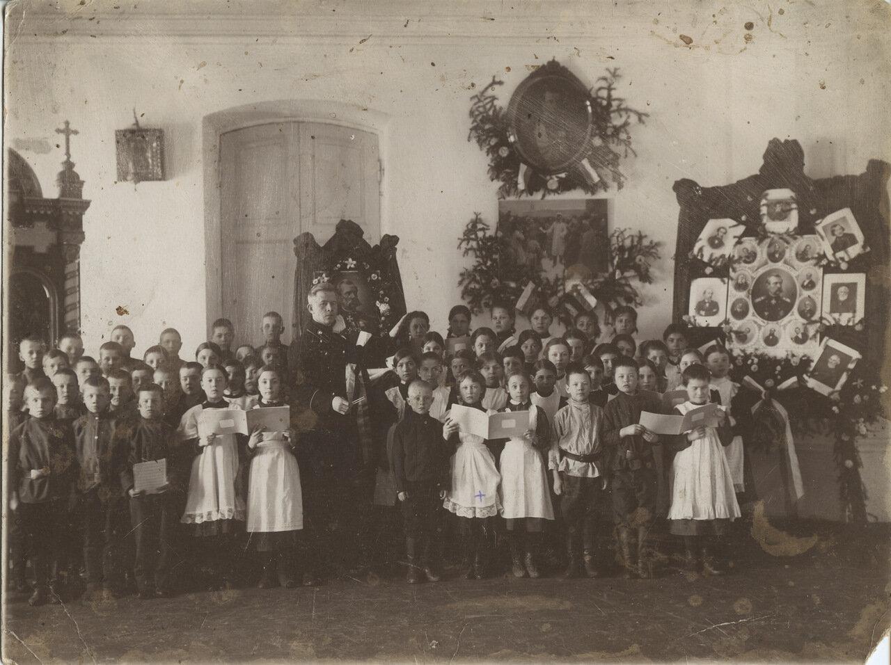 Гимназия им. А Кладищевой. Иркутск 1911г.