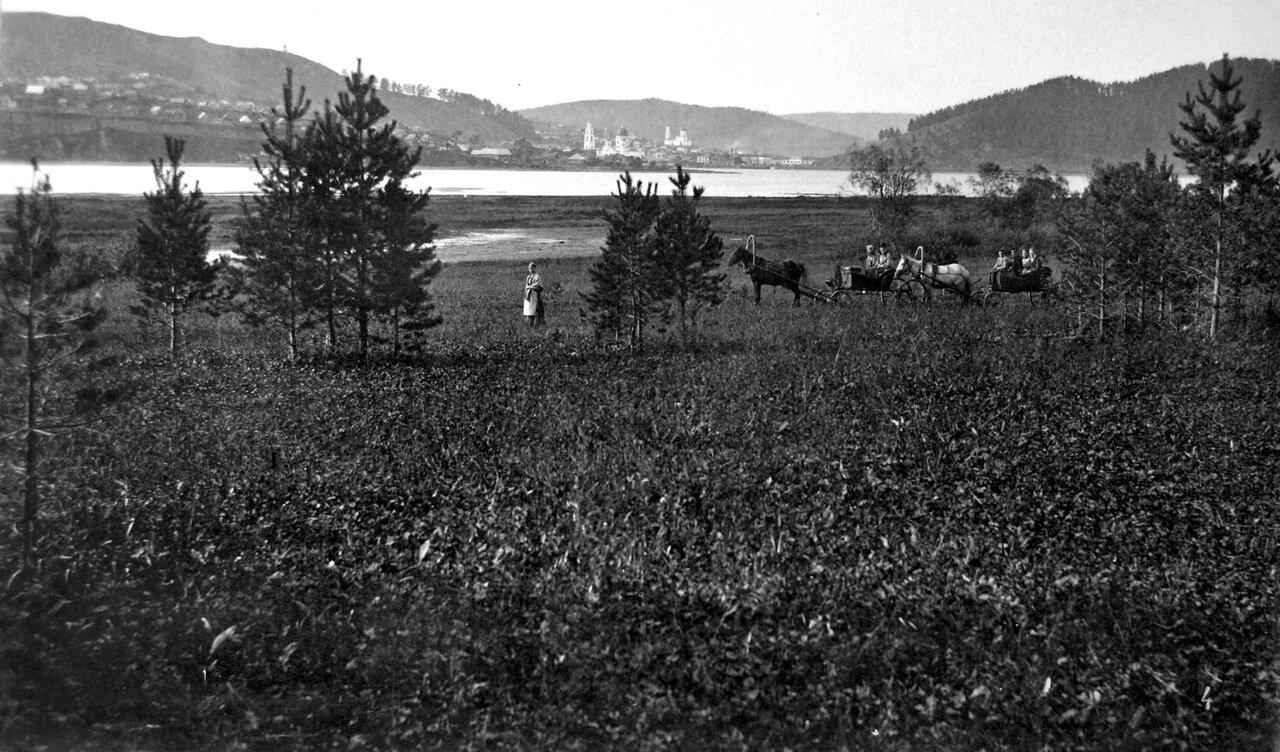 1890-е. Вид на центр города с востока.