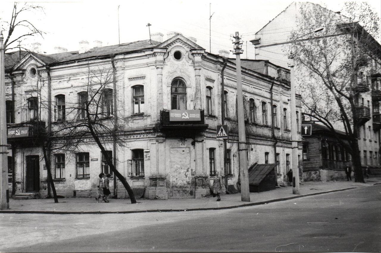 Ул. Волошская. 1986 год
