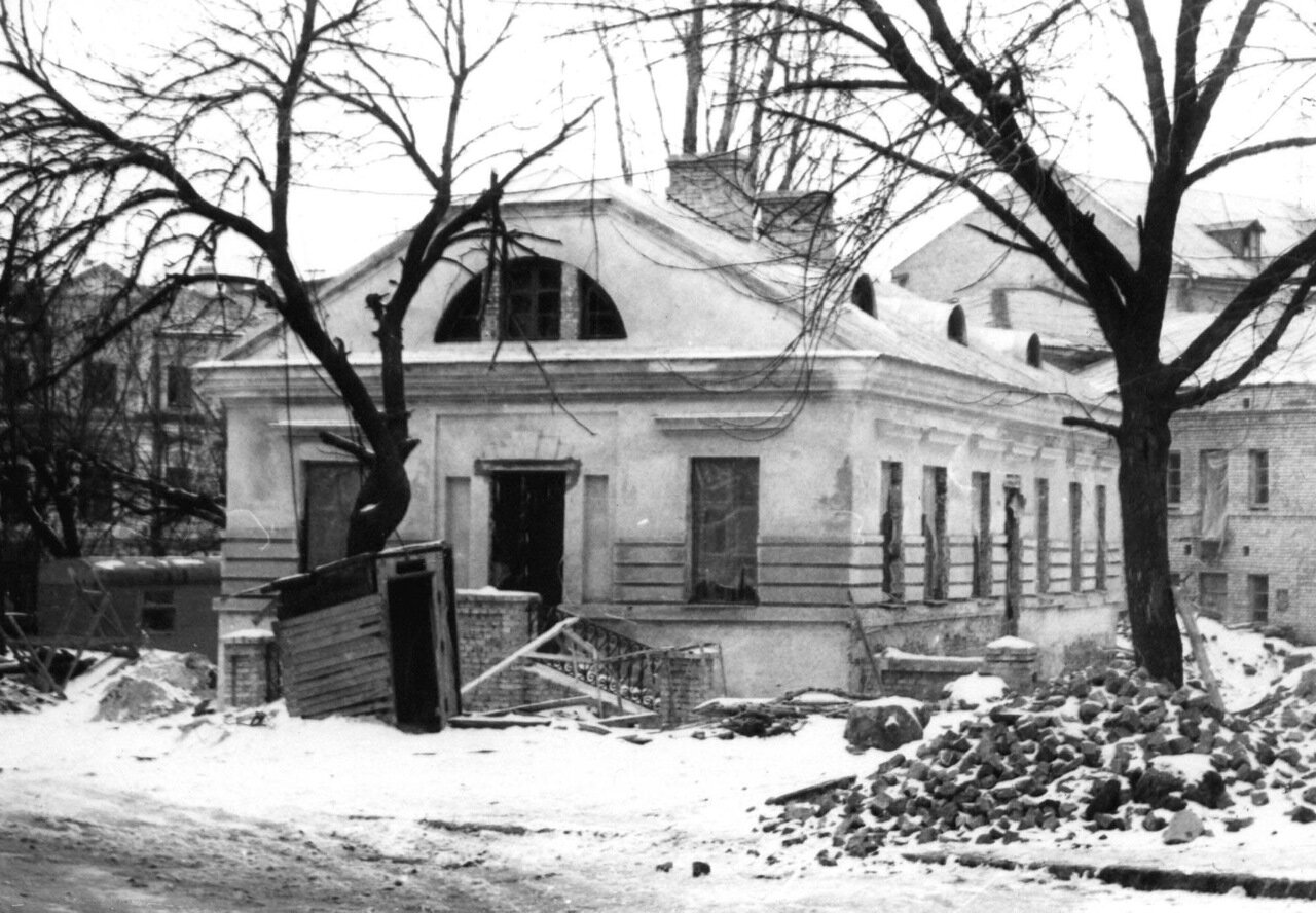 Ул. Сагайдачного зимой 1980 г.
