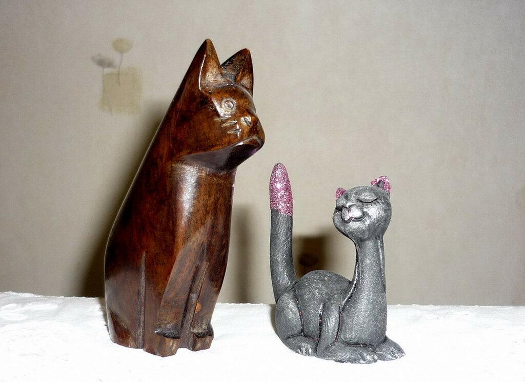 Коты и кошки.