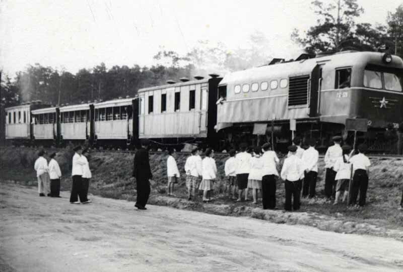 Поезд Малой Южно-Уральской железной дороги (03.06.2013)