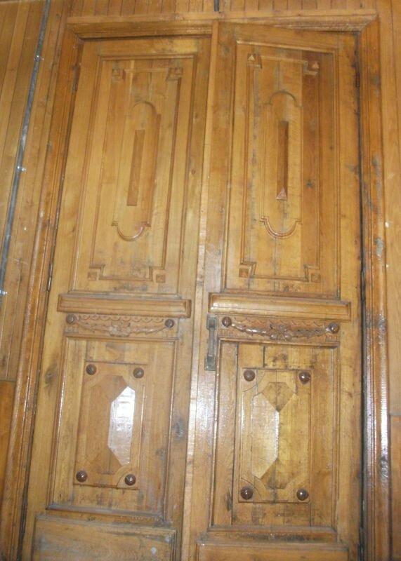 Массивные дубовые двери (04.06.2013)