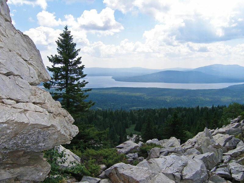 Вид на национальный парк (21.06.2013)